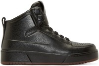 3.1 Phillip Lim Black Pl31 Leather Sneakers