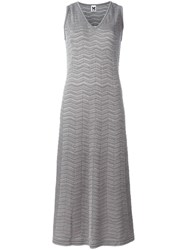 M Missoni Knitted Maxi Dress Grey