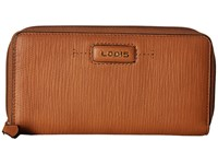 Lodis Cordoba Ada Zip Wallet Toffee Wallet Handbags Brown