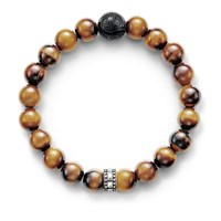 Thomas Sabo Rebel At Heart Tiger S Eye Bracelet