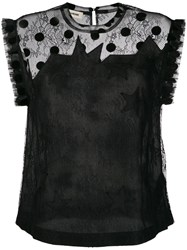 Zadig And Voltaire Tetro Lace Top 60