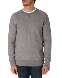 Levi's Crew Neck Flecked Grey Sweater