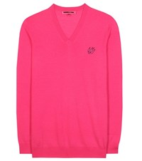 Mcq By Alexander Mcqueen Wool Sweater Pink