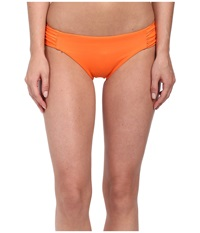 Becca Color Code Tab American Bottom Nectarine Women's Swimwear Orange