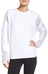 Alo Yoga Women's Formation Pullover White