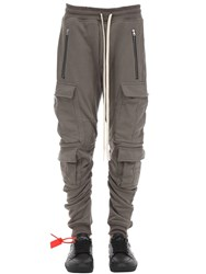 Represent Lvr Exclusive Cotton Military Sweatpants Beige