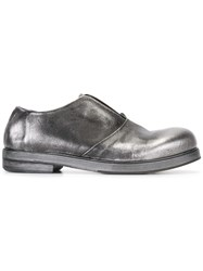 Marsell Metallic Grey Loafers