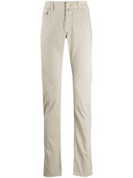 Jacob Cohen Long Slim Fit Chino Trousers 60