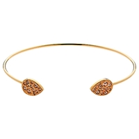 Cachet London Diza Spring Cuff Rose Gold
