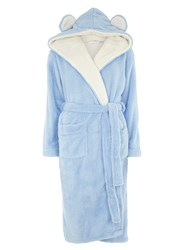 Dorothy Perkins Super Cosy Robe With Hood And Ears Blue