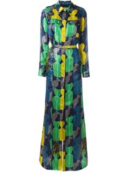Lanvin Maxi Shirt Dress