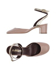 Avril Gau Pumps Dove Grey