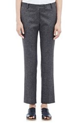 Tomorrowland Melange Tweed Trousers Blue
