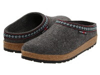 Haflinger Gz Classic Grizzly Grey Clog Shoes Gray