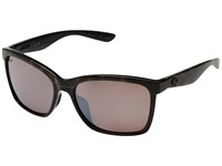 Costa Anaa Oive Tortoise On Black Silver Mirror 580P Fashion Sunglasses