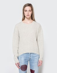 Just Female Corn Knit Light Fog