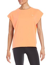 Y.A.S Mesh Back Tee Fiery Coral