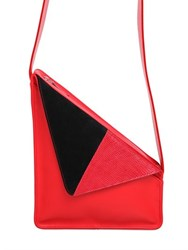 J.W.Anderson Triangle Leather Shoulder Bag