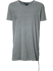 Ksubi Plain T Shirt Grey