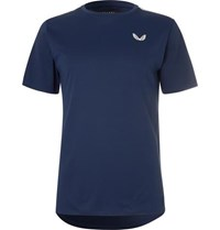 Castore Thomas Stretch Jersey And Mesh T Shirt Blue