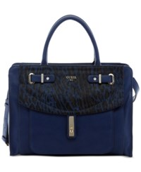 Guess Kingsley Satchel Sapphire