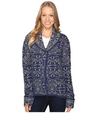 Royal Robbins Autumn Rose Cardigan Pewter Women's Sweater