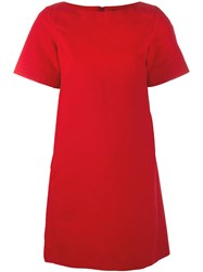 Paule Ka Short T Shirt Dress Red
