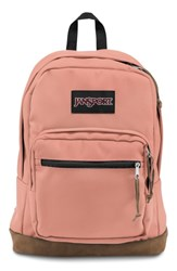 Jansport Right Pack Backpack Pink Muted Clay