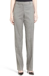 Boss Women's 'Tamea 5' Straight Leg Wool Suit Pants