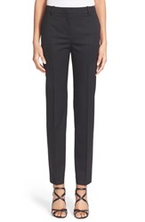 The Kooples Women's 'Timeless' Stretch Wool Trousers Black