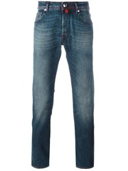 Jacob Cohen Stonewashed Slim Fit Jeans Blue