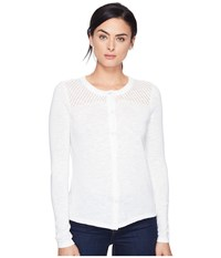 Aventura Clothing Alston Cardigan White Women's Sweater