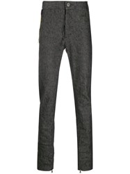 Cedric Jacquemyn Slim Fit Mid Rise Trousers 60