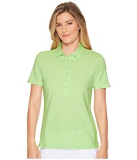 Skechers Performance Go Golf Space Dye Polo Green Clothing