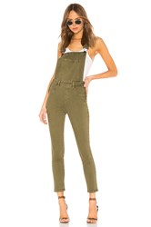 Blank Nyc Fitted Skinny Overall Apple Jack