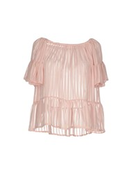 Giorgia And Johns Blouses Pink