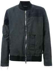 Longjourney Zipper Pocket Jacket Black
