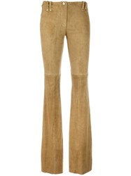 Plein Sud Jeans Palazzo Pants Nude Neutrals