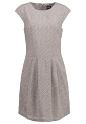 Opus Wolantha Summer Dress Stone Grey