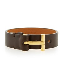 Tom Ford Nashville Men's Leather Bracelet Brown
