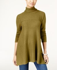 Styleandco. Style Co. Turtleneck Tunic Sweater Only At Macy's Olive Moss