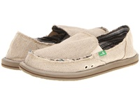 Sanuk Donna Hemp Natural Women's Slip On Shoes Beige