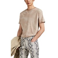 Alyx Camouflage Cotton T Shirt Sand