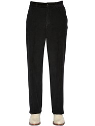 Our Legacy Chino 22 Washed Corduroy Pants Black