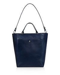 Elizabeth And James Eloise Large Leather Tote Peacock Silver