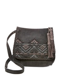 Steve Madden Crossbody Saddle Bag Slate