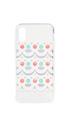 Kate Spade New York Embellished Clear Iphone X Xs Case Clear Multi
