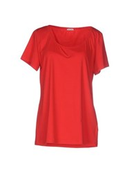 Pennyblack Topwear T Shirts Women Red