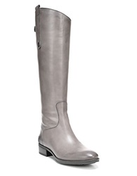 Sam Edelman Penny Leather Riding Boots Grey