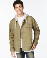 Tavik Droogs Full Zip Jacket Army Green